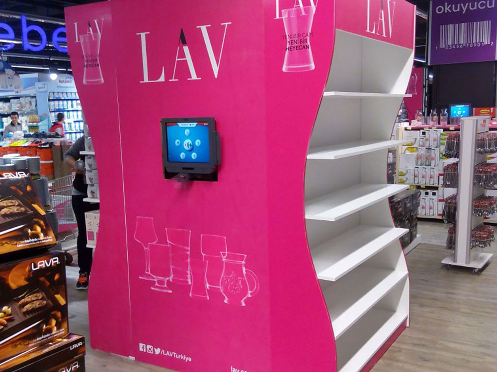 LAV STAND - 2